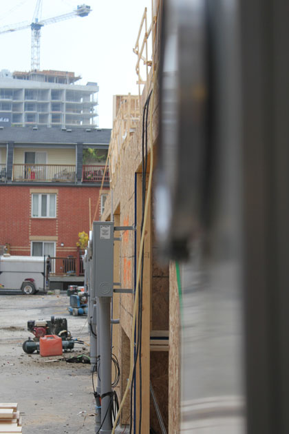 Corktown Mews construction update