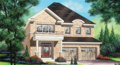 38' Dove at Valleylands in West Brampton by Fieldgate Homes
