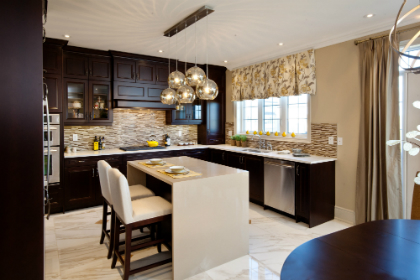 Impressions in Kleinburg model home by Fieldgate Homes