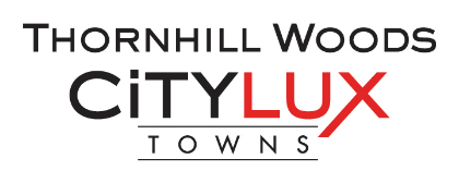 CityLux Towns in Thornhill by Fieldgate Homes