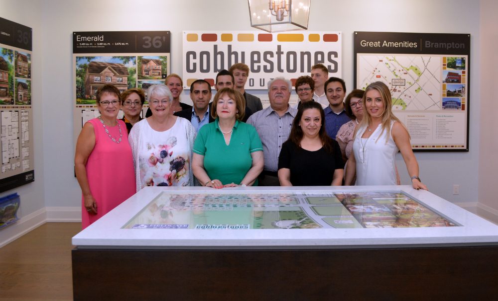 Cobblestones South opening in West Brampton by Fieldgate Homes
