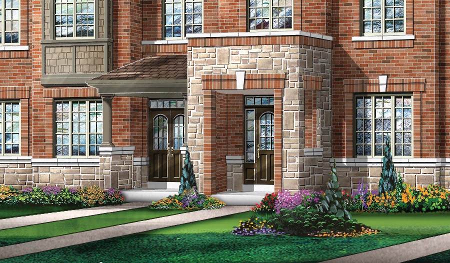 Whitby Meadows townhomes by Fieldgate Homes