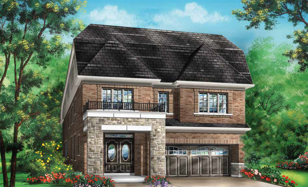 36' Snow Owl at Blue Sky in Stouffville by Fieldgate Homes