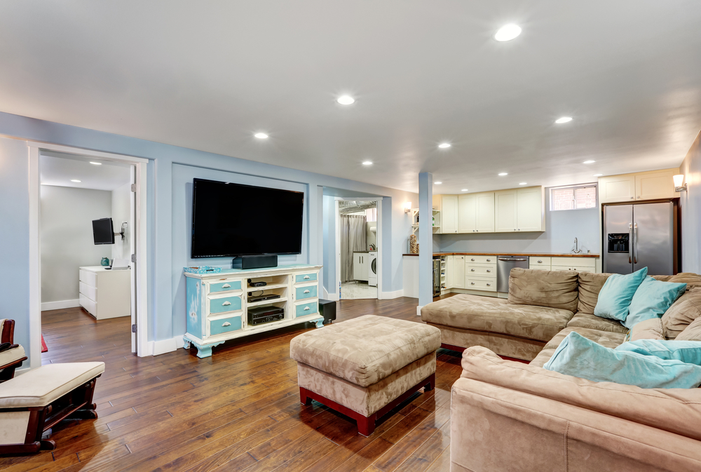 5 Ideas For Your Finished Basement!