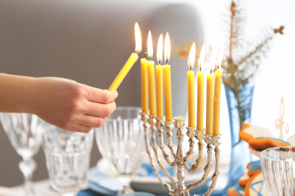 Menorah Lighting Ceremonies in Vaughan