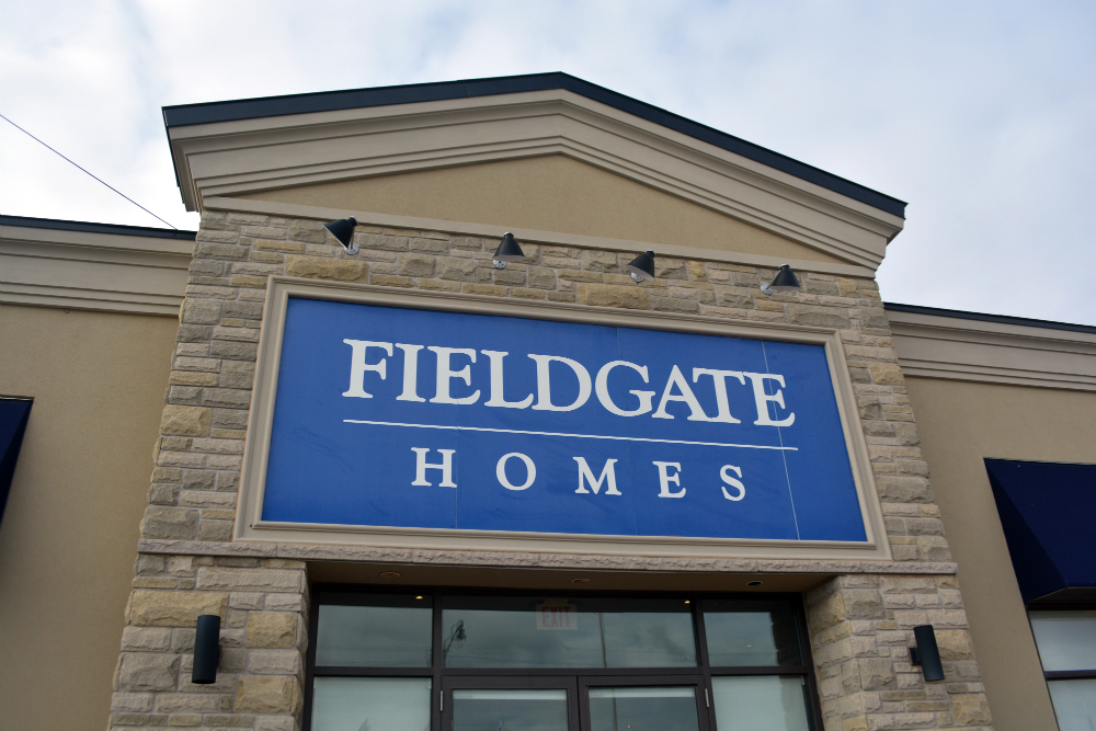 Fieldgate Homes sales centre