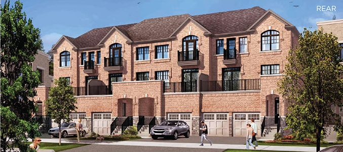 Dual-entry freehold townhome in Stouffville by Fieldgate Homes