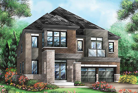 The Tulip at Richlands in Richmond Hill by Fieldgate Homes