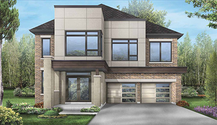 Williams model at Blue Sky East Village in Stouffville by Fieldgate Homes