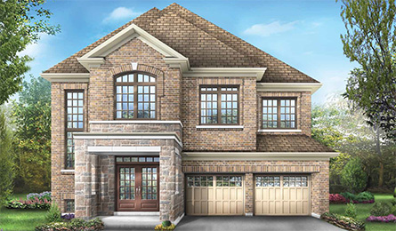 Woods model at Blue Sky East Village in Stouffville by Fieldgate Homes