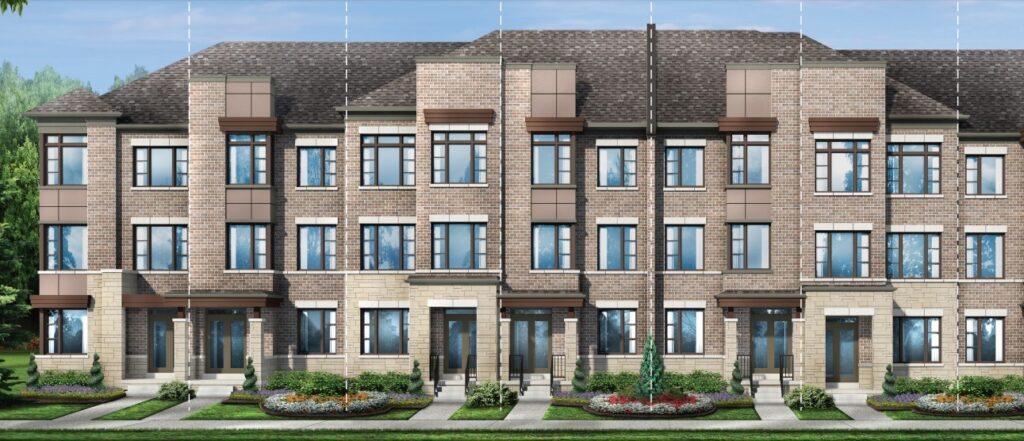 Richlands townhomes in Richmond Hill by Fieldgate Homes