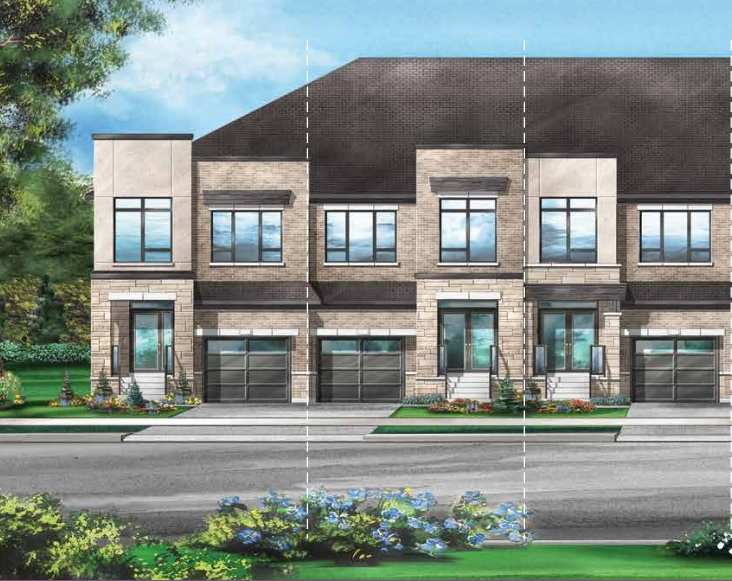 Freehold townhomes at Richlands in Richmond Hill by Fieldgate Homes