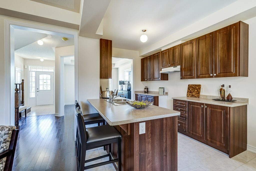 Ashton kitchen at Whitby Meadows by Fieldgate Homes