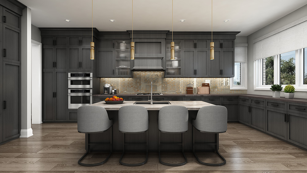 Blue Sky Henry kitchen interior by Fieldgate Homes