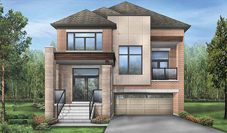 Blue Sky detached home in Stouffville by Fieldgate Homes