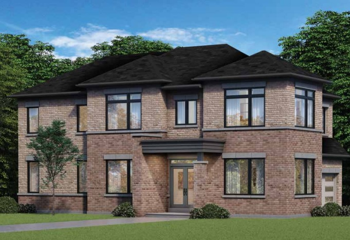 Park Vista home in Whitby by Fieldgate Homes