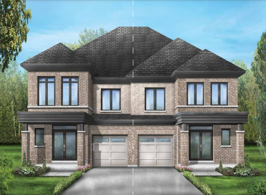Semi-detached home at Seaton by Fieldgate Homes in Pickering