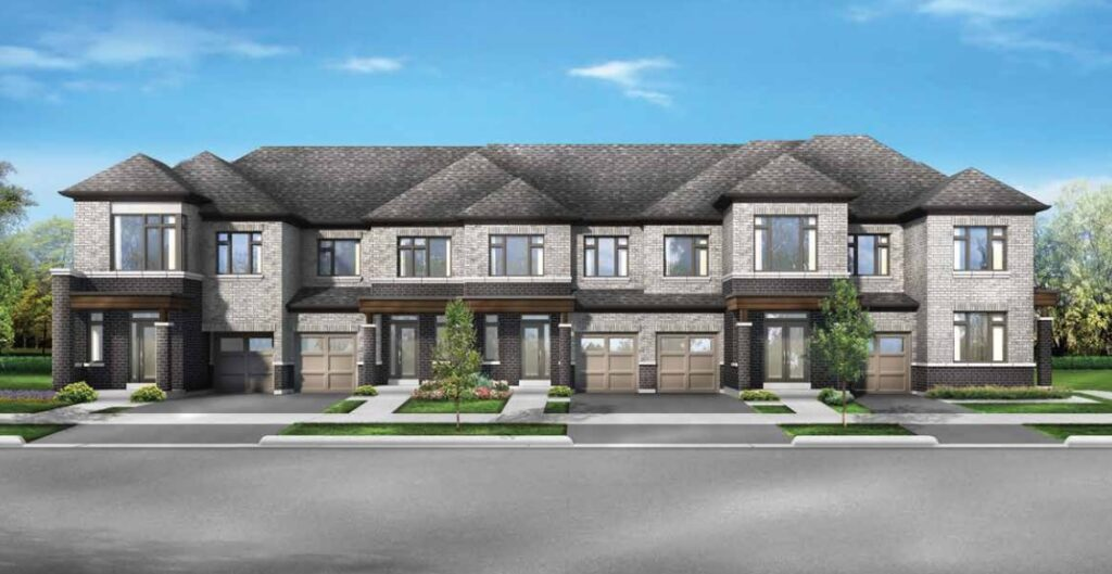 Townhome at Seaton by Fieldgate Homes in Pickering