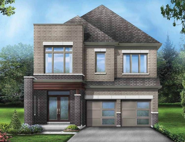 Detached home at Seaton by Fieldgate Homes in Pickering