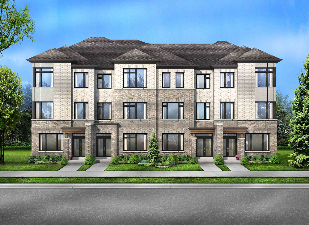 Townhomes at Seaton by Fieldgate Homes in North Pickering