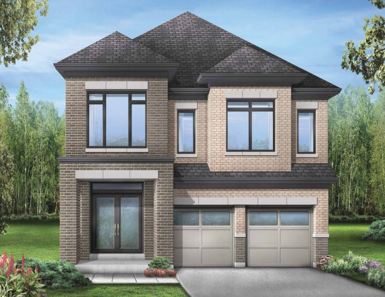 Detached home at Seaton in North Pickering by Fieldgate Homes.