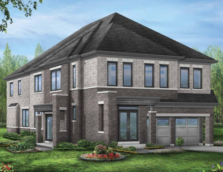 Seaton townhome in Pickering by Fieldgate Homes
