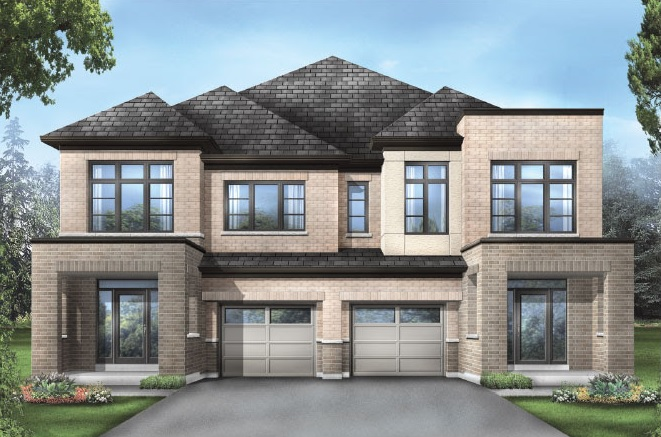 Semi-detached home at Whitby Meadows by Fieldgate Homes