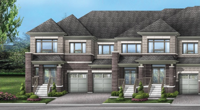 Townhomes at Whitby Meadows by Fieldgate Homes