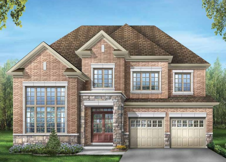 New Kleinburg detached home by Fieldgate homes