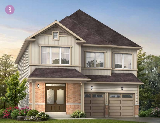 Detached home at Emerald Crossing in Shelburne by Fieldgate Homes