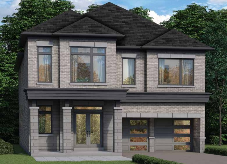 Whitby Meadows detached home rendering by Fieldgate Homes