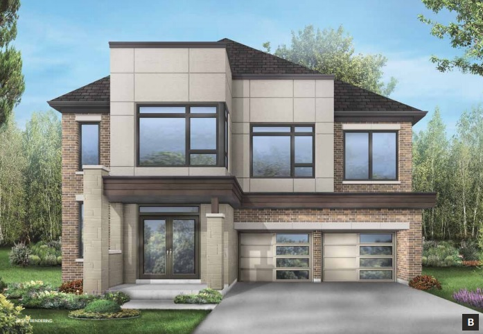 Detached home at Cityside in Stouffville by Fieldgate Homes