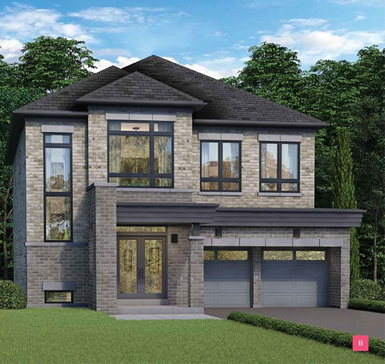 Detached home at Dreamscape in Oshawa by Fieldgate Homes