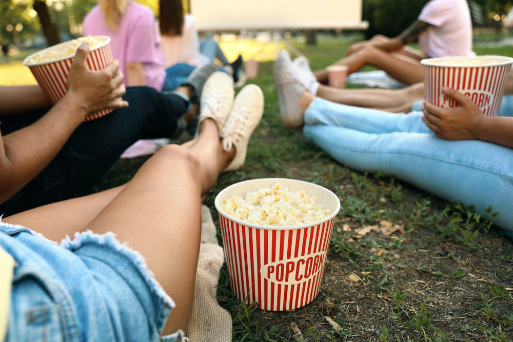 Movies in the Park in Stouffville