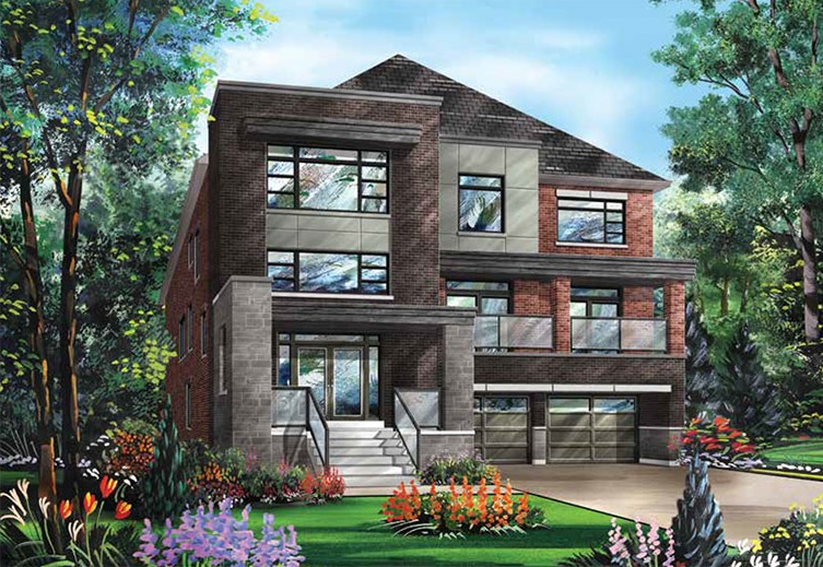 Detached home at Richlands in Richmond Hill by Fieldgate Homes