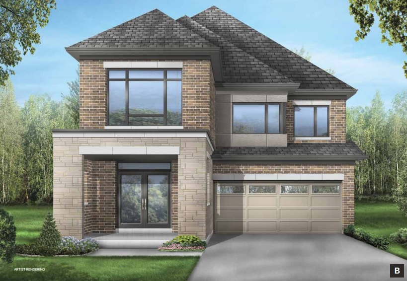 Detached home in Stouffville by Fieldgate Homes
