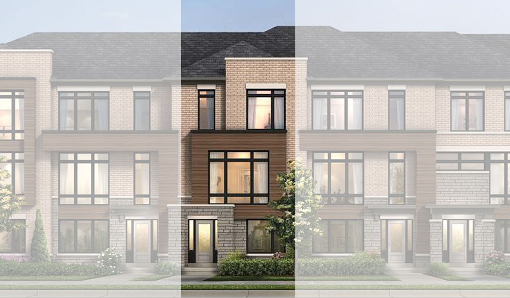 Terrace Townhome in Ajax by Fieldgate Homes